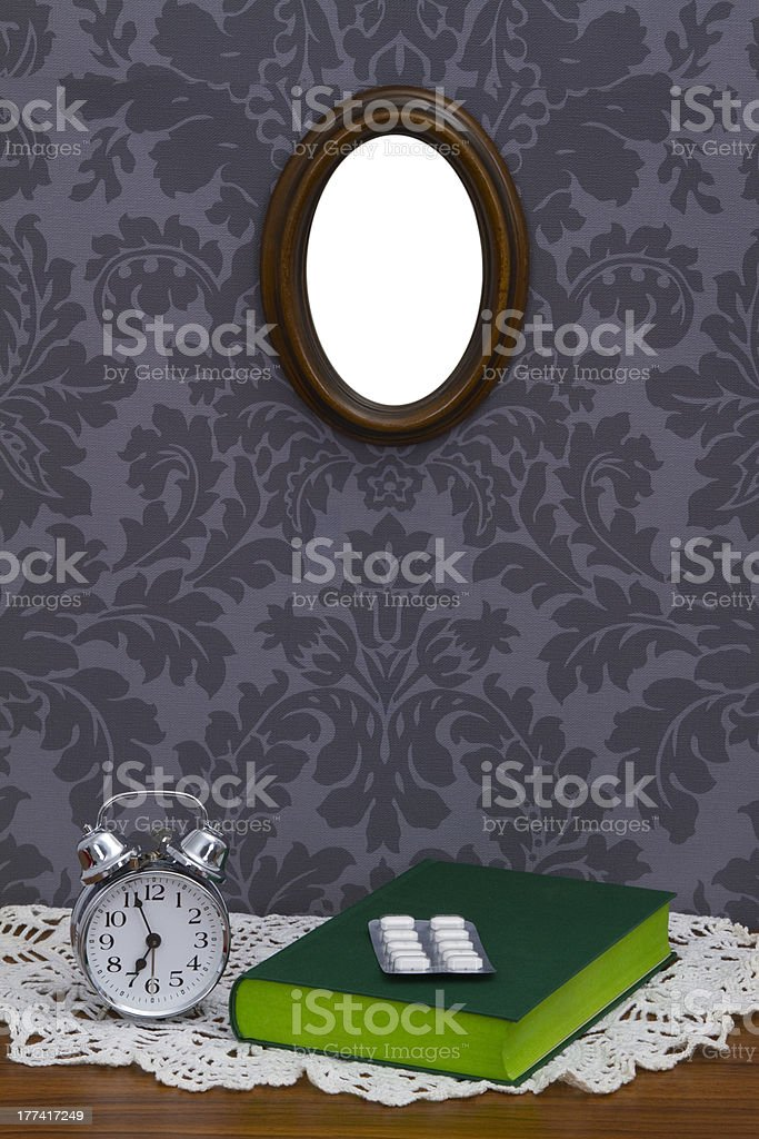 To get up royalty-free stock photo