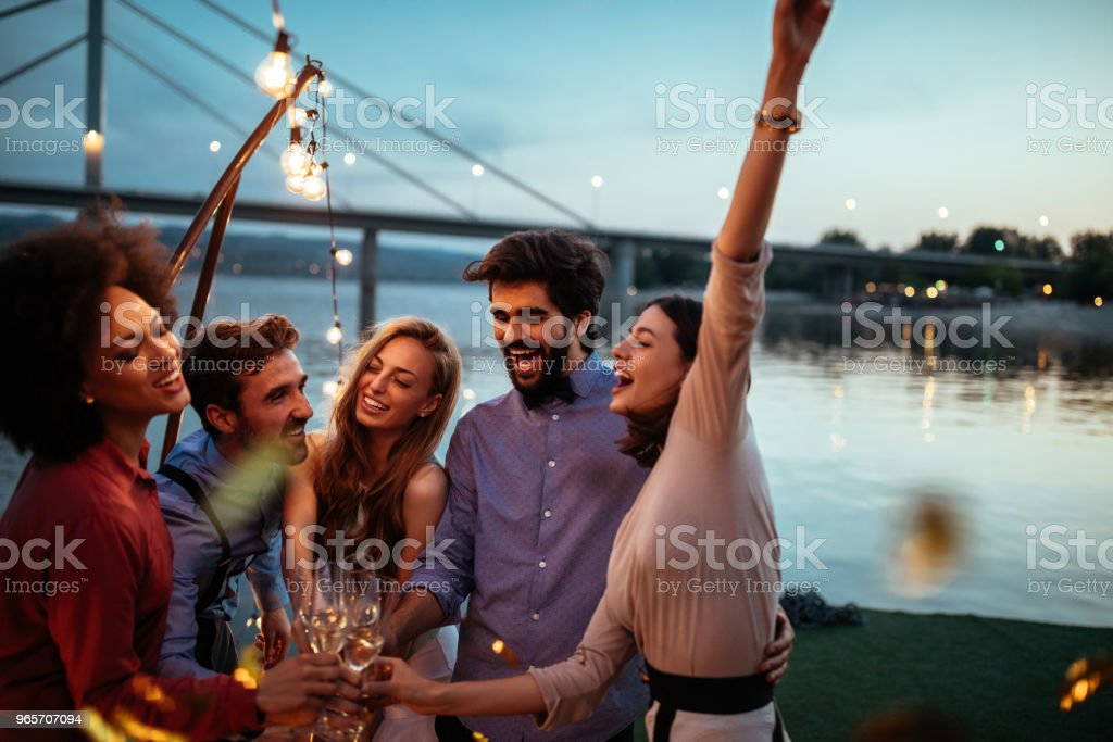 To love and friendship ! - Royalty-free Adult Stock Photo