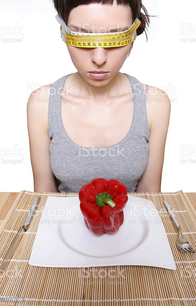 To many calories! royalty-free stock photo