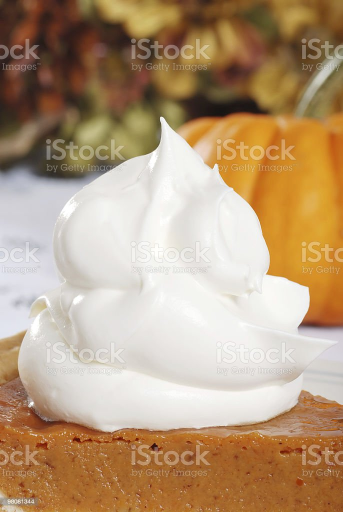 to much whip cream royalty-free stock photo