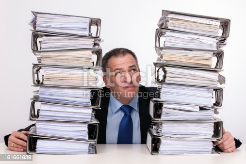 481644192 istock photo To much  work for one person 161661639