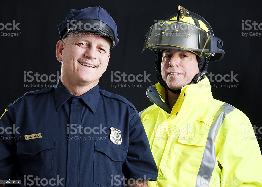 To Serve and Protect stock photo
