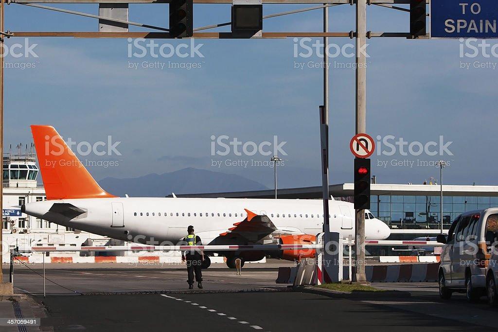 To Spain stock photo