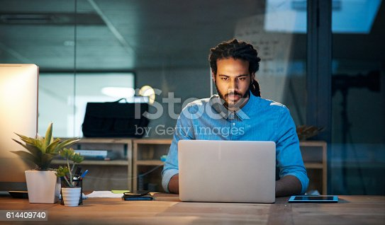 istock To stay productive you need to stay persistent 614409740