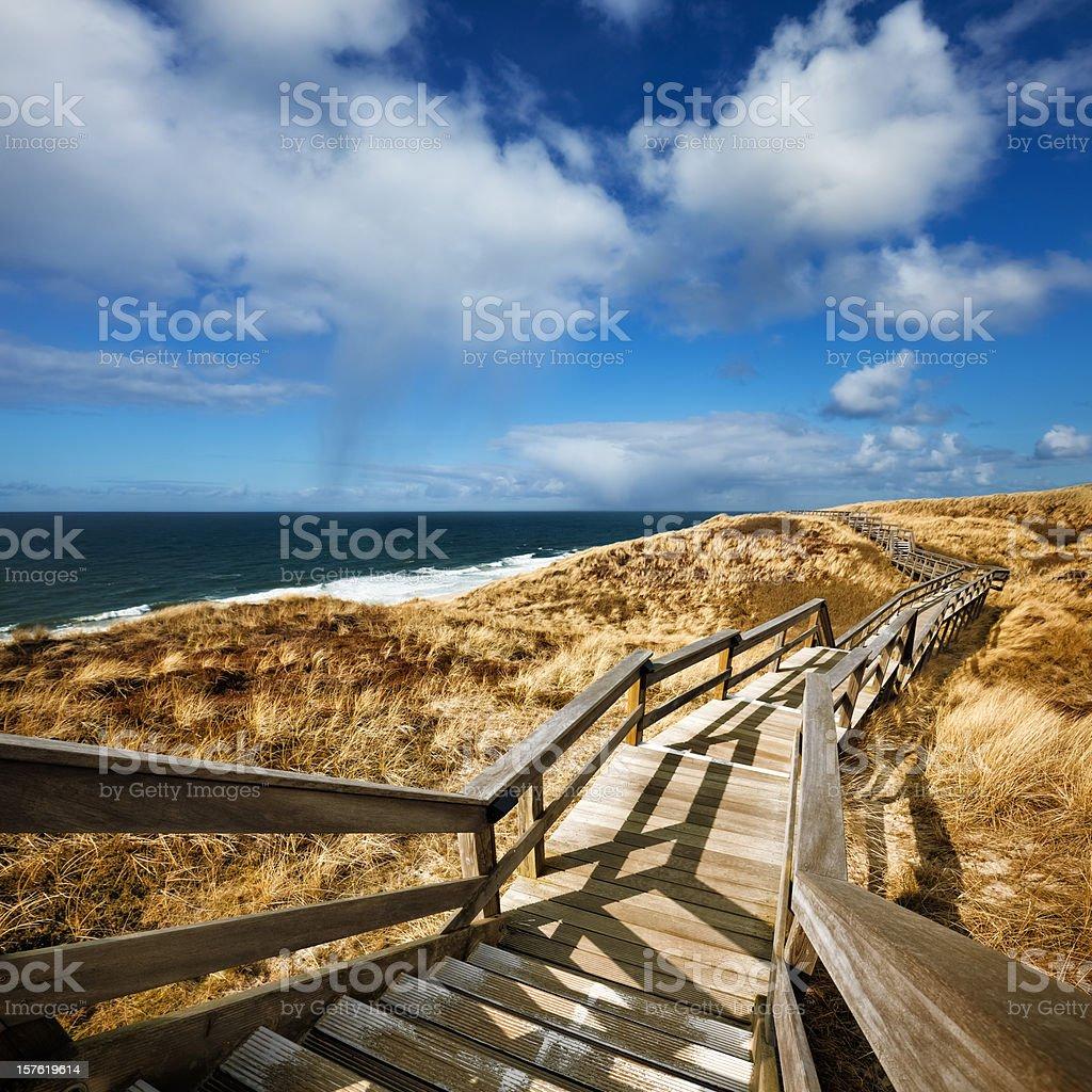 To the Horizon stock photo