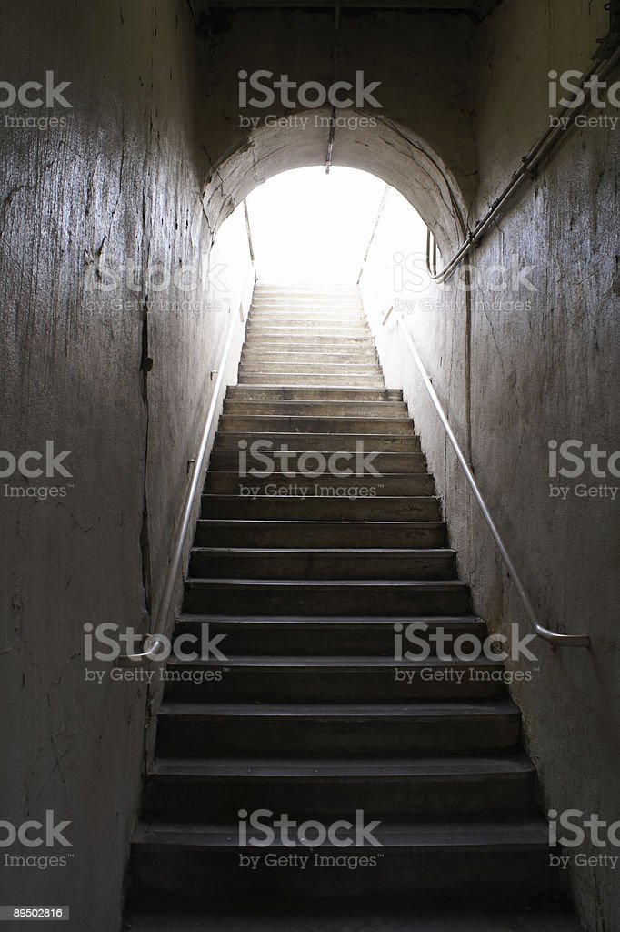 To the light royalty-free stock photo
