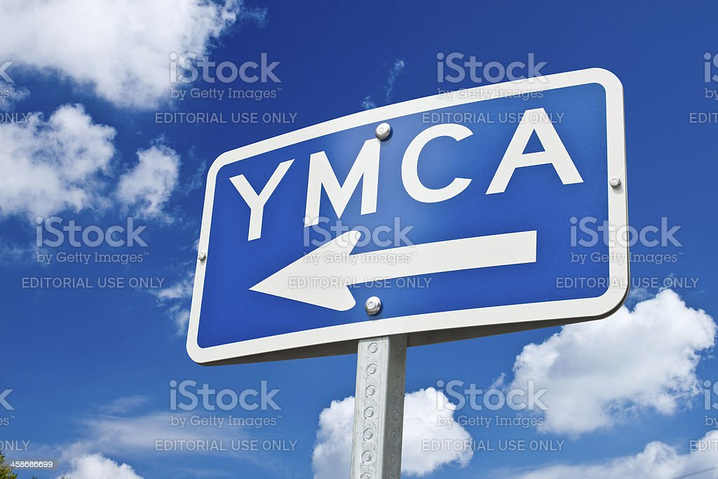 To The YMCA royalty-free stock photo