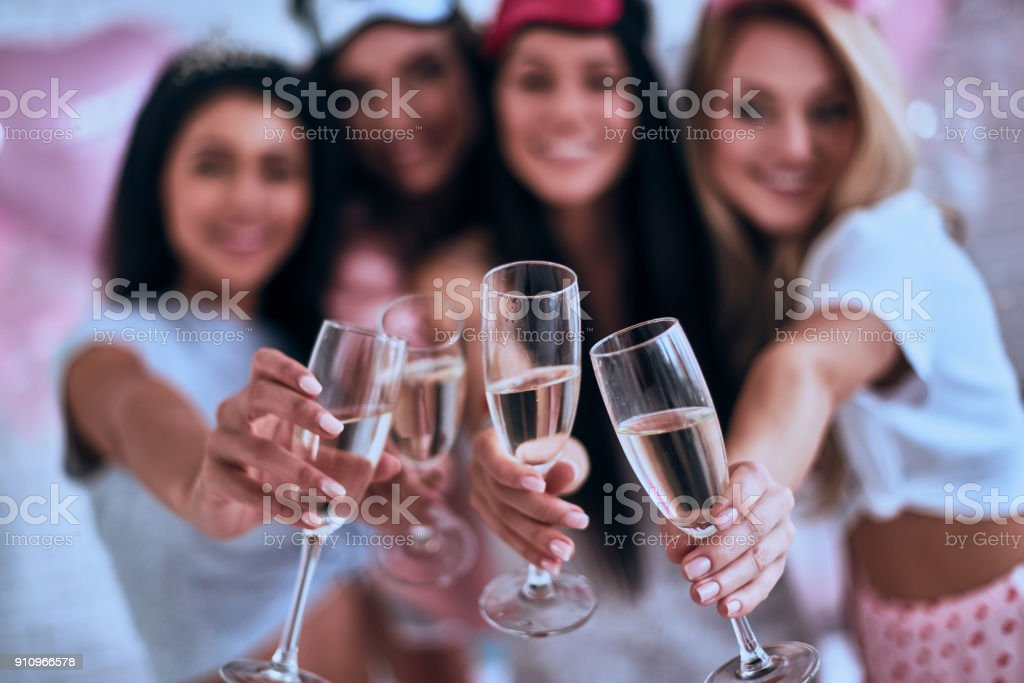 To you! stock photo