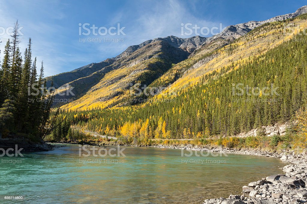 Toad River, Canada royalty-free stock photo