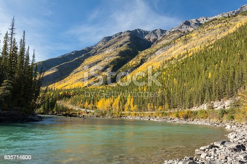 Toad River Canada Stock Photo & More Pictures of Autumn