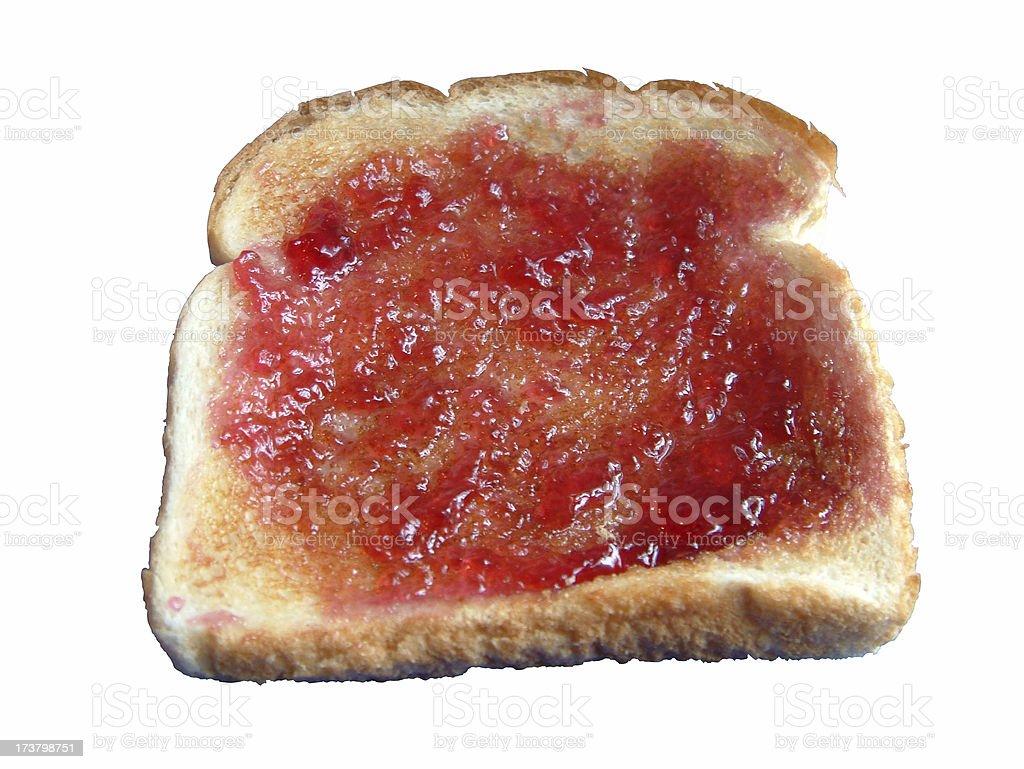 Toast 1 royalty-free stock photo