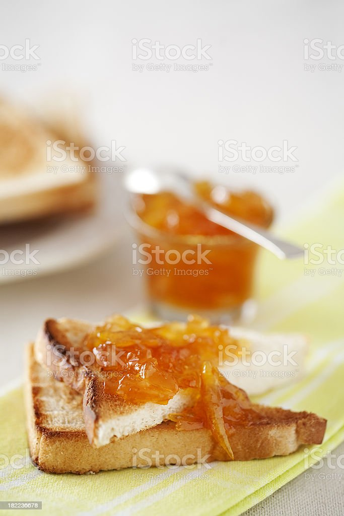 Toast and Marmalade stock photo