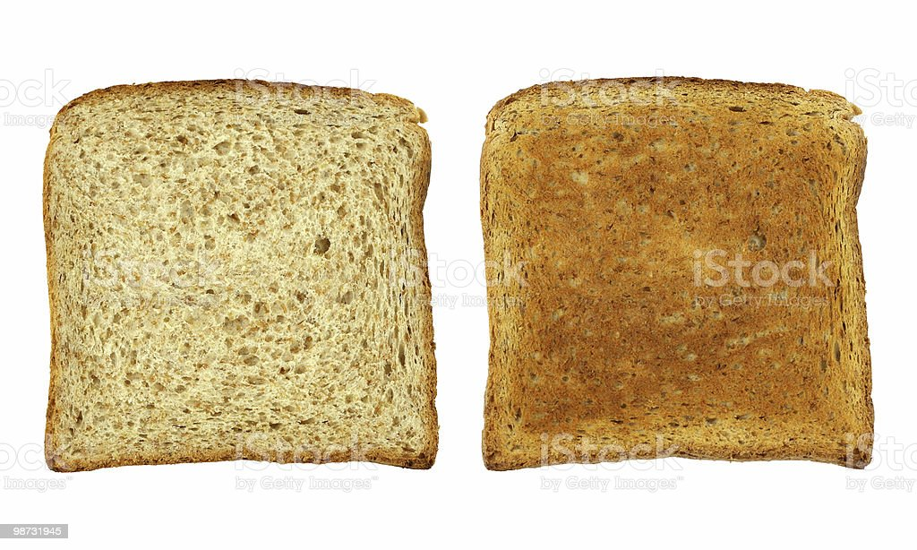 Toast bread royalty-free stock photo