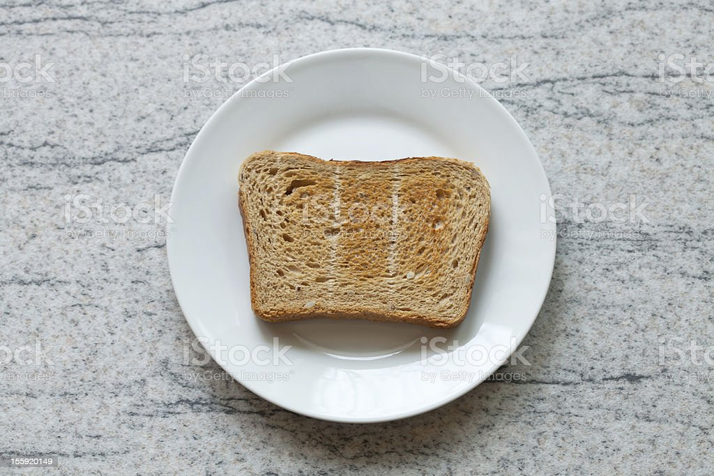 Toast royalty-free stock photo