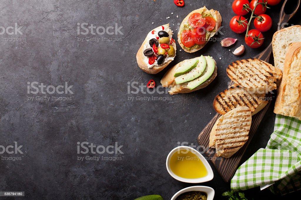 Toast-sandwiches – Foto