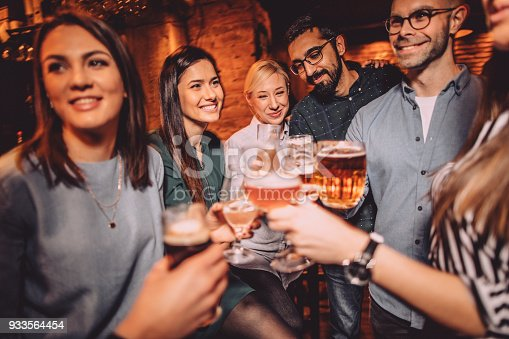 933516938 istock photo Toast to our friendship 933564454