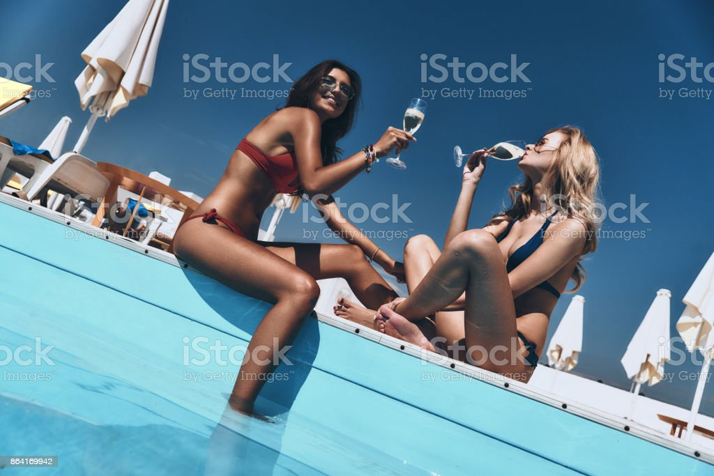 Toast to summer. royalty-free stock photo