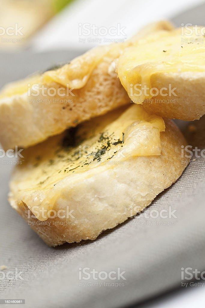 Brinde com queijo foto royalty-free