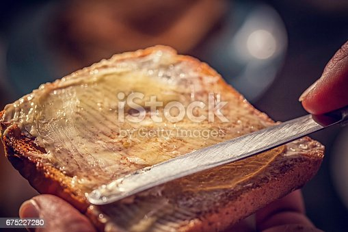 istock Toast with Honey for Breakfast 675227280