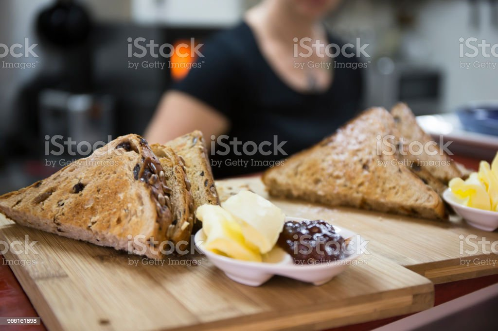 Toasted grain bread - Royalty-free American Culture Stock Photo