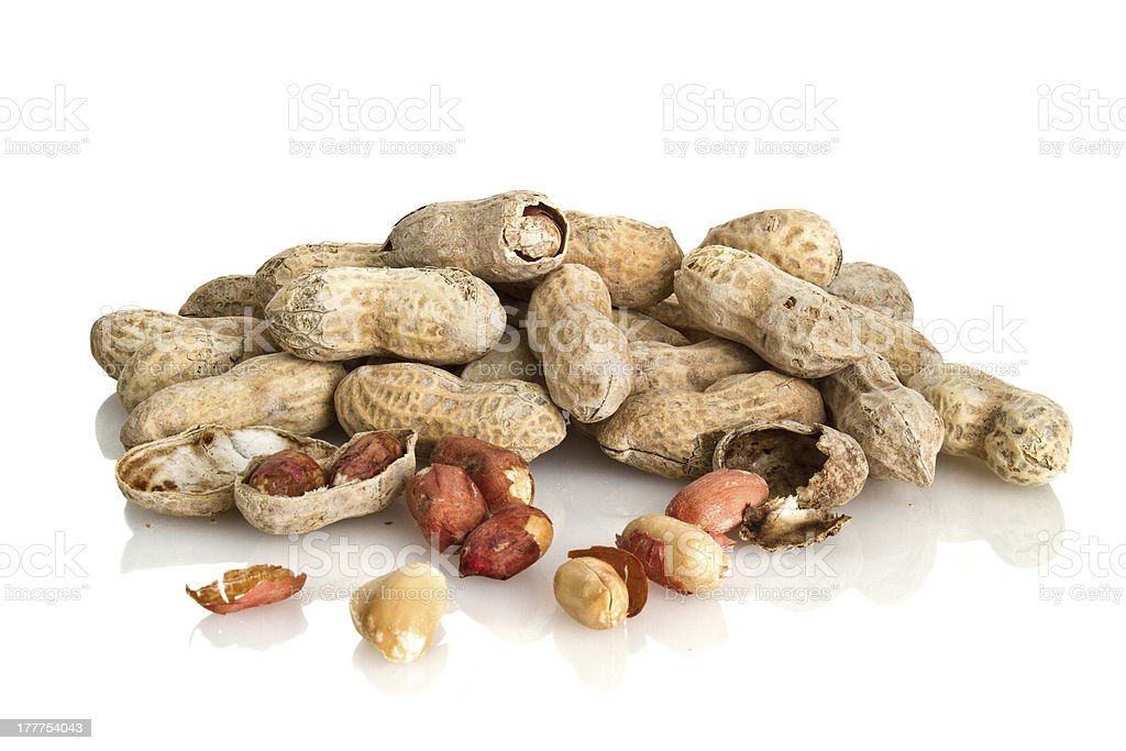Toasted Peanut Crops royalty-free stock photo