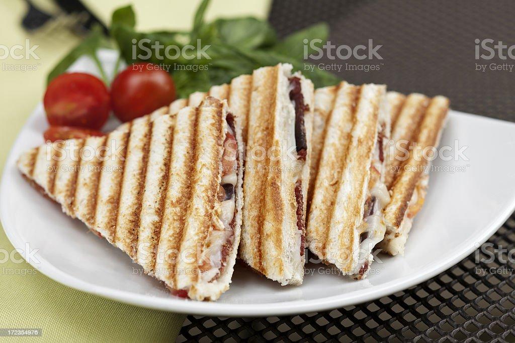 Toasted Sandwich stock photo