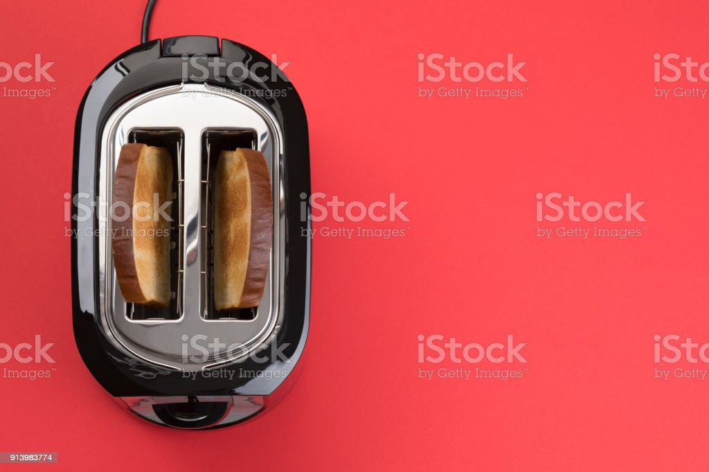 Toaster - Isolated stock photo