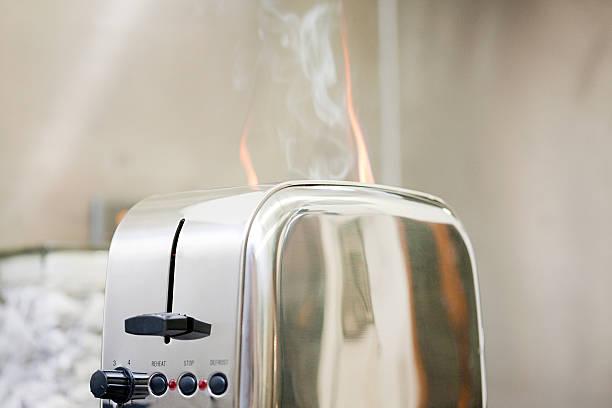 Toaster on - – Foto