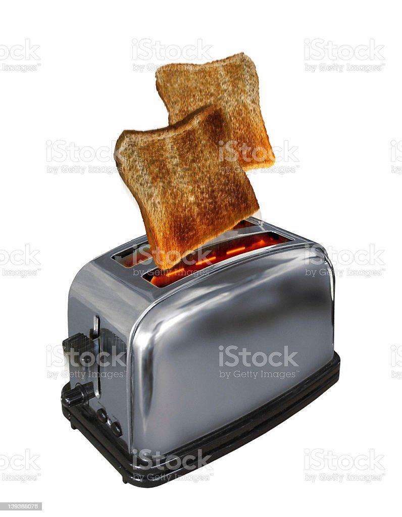 Toaster on stock photo