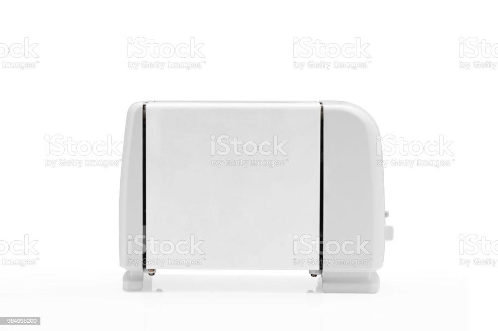 Toaster on white background. - Royalty-free Appliance Stock Photo