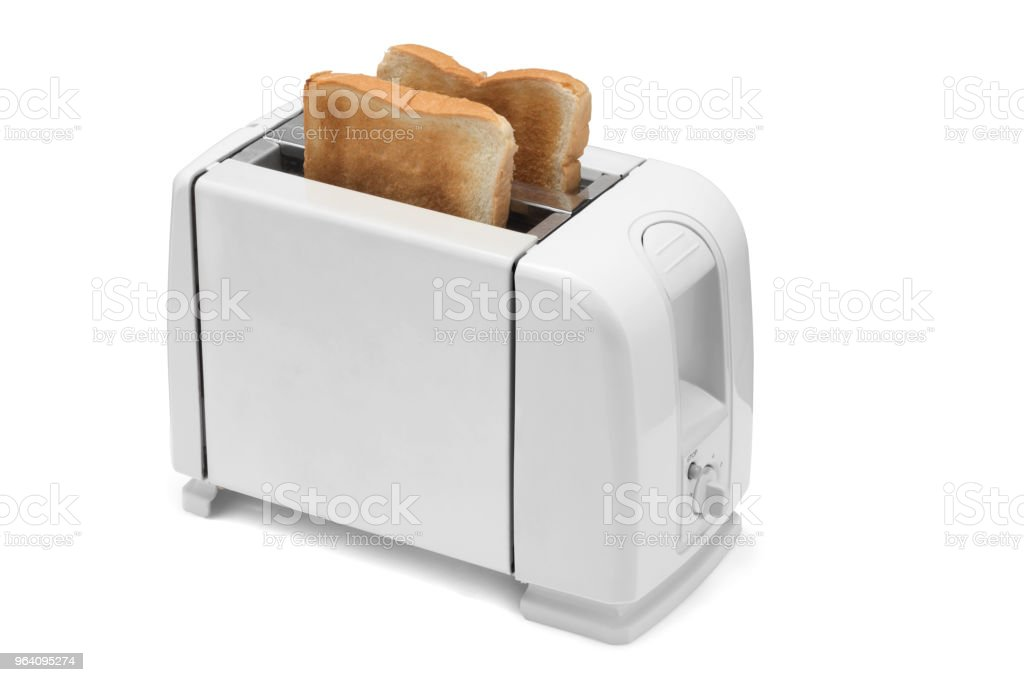 Toaster on white background. - Royalty-free Appliance Stock Photo