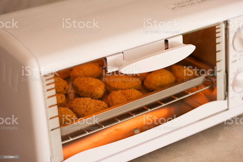Toaster Oven stock photo