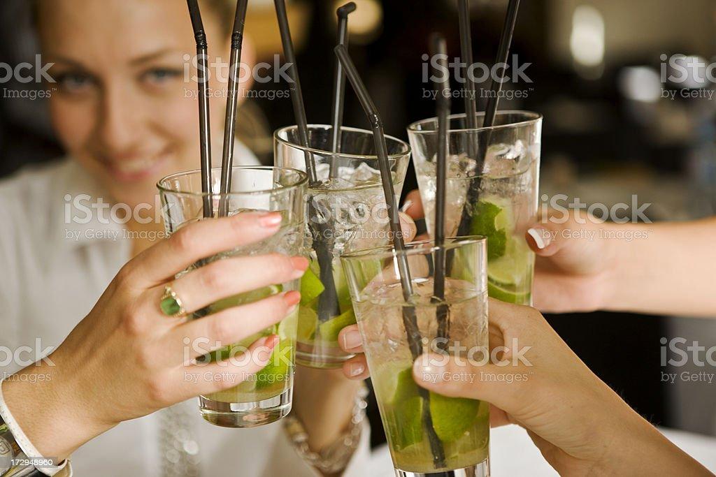 Toasting stock photo