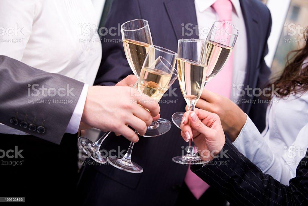 Un toast - Photo