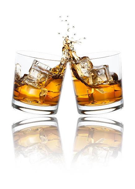 Verres toast Whiskey - Photo