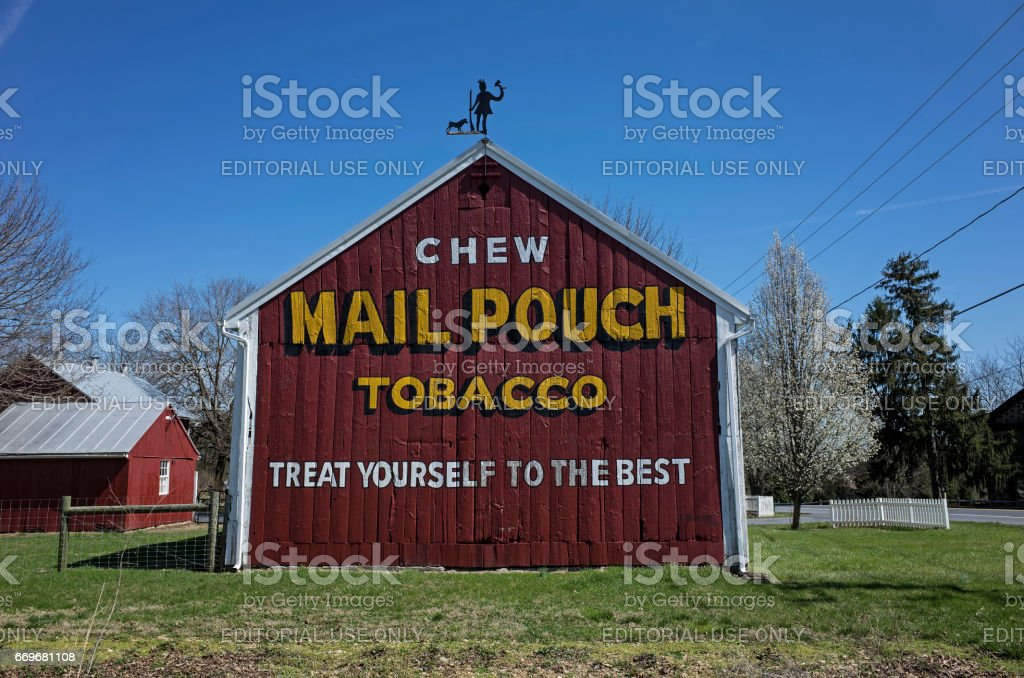 Tobacco Barn stock photo
