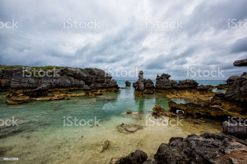 Tobacco Bay in Bermuda foto de stock royalty-free