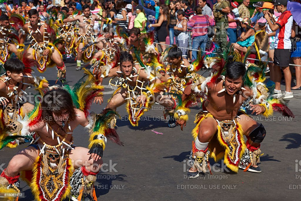 Tobas Dance Group stock photo