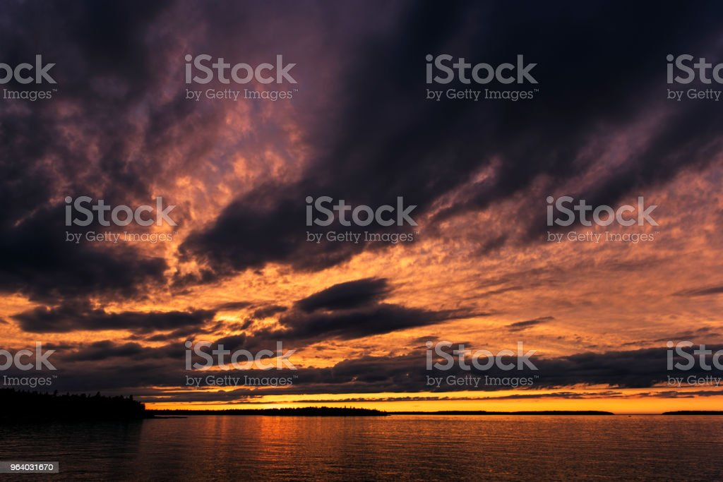 Tobermory Sunset - Royalty-free Beauty In Nature Stock Photo