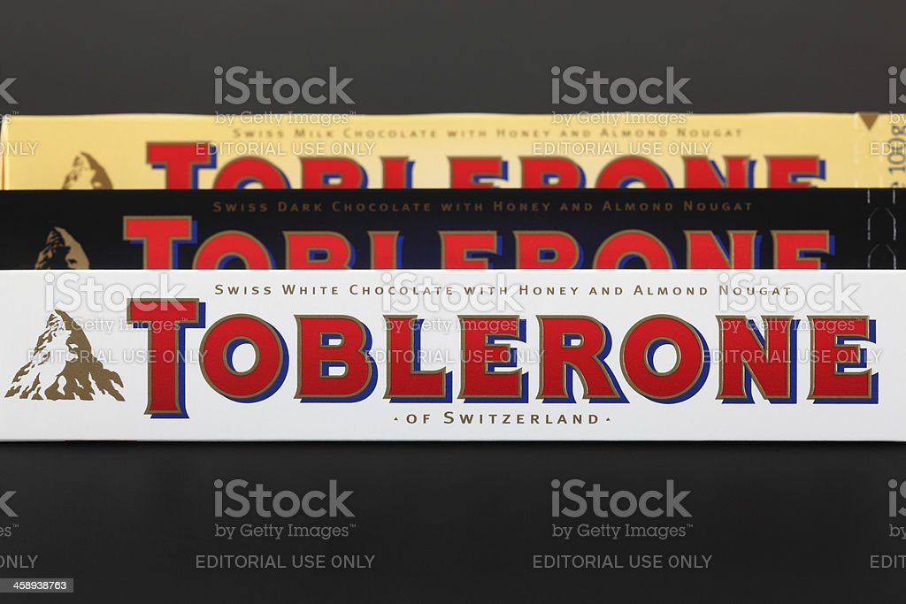 Toblerone Chocolate Bars Stock Photo Download Image Now