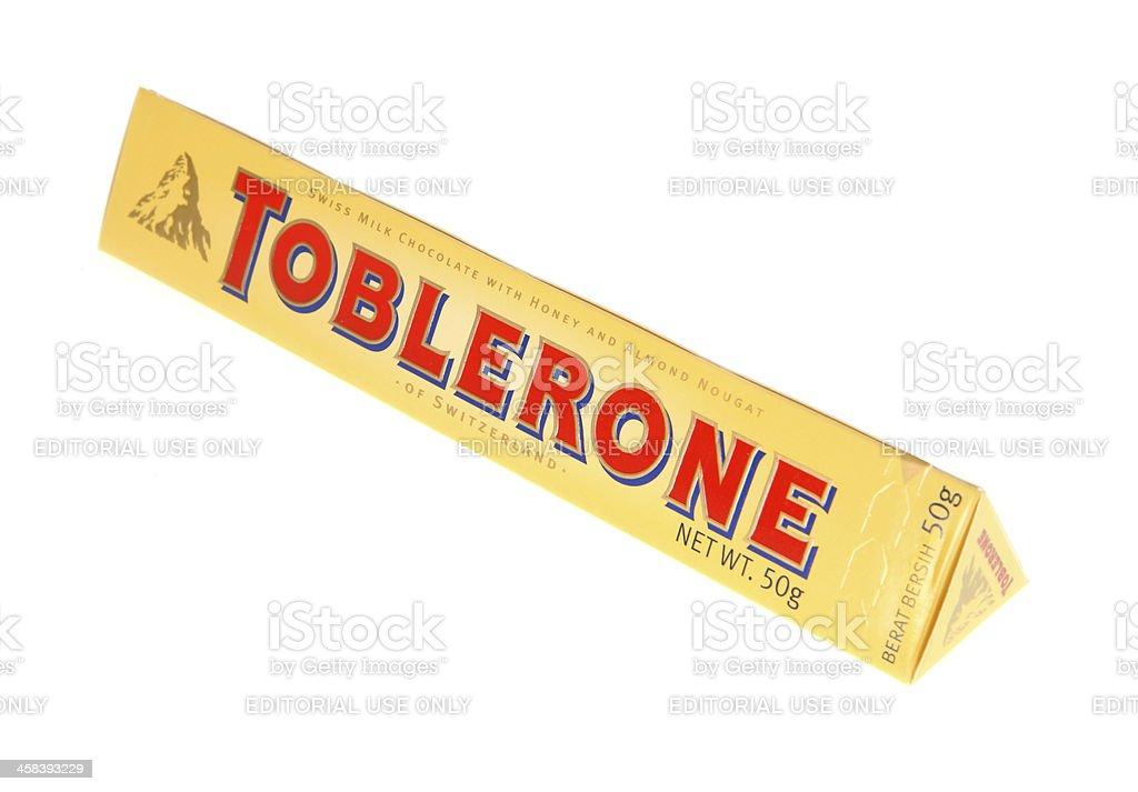 Toblerone stock photo