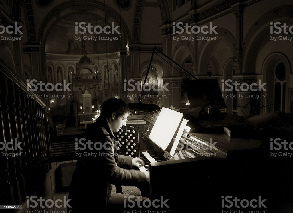 Toccata and Fugue stock photo