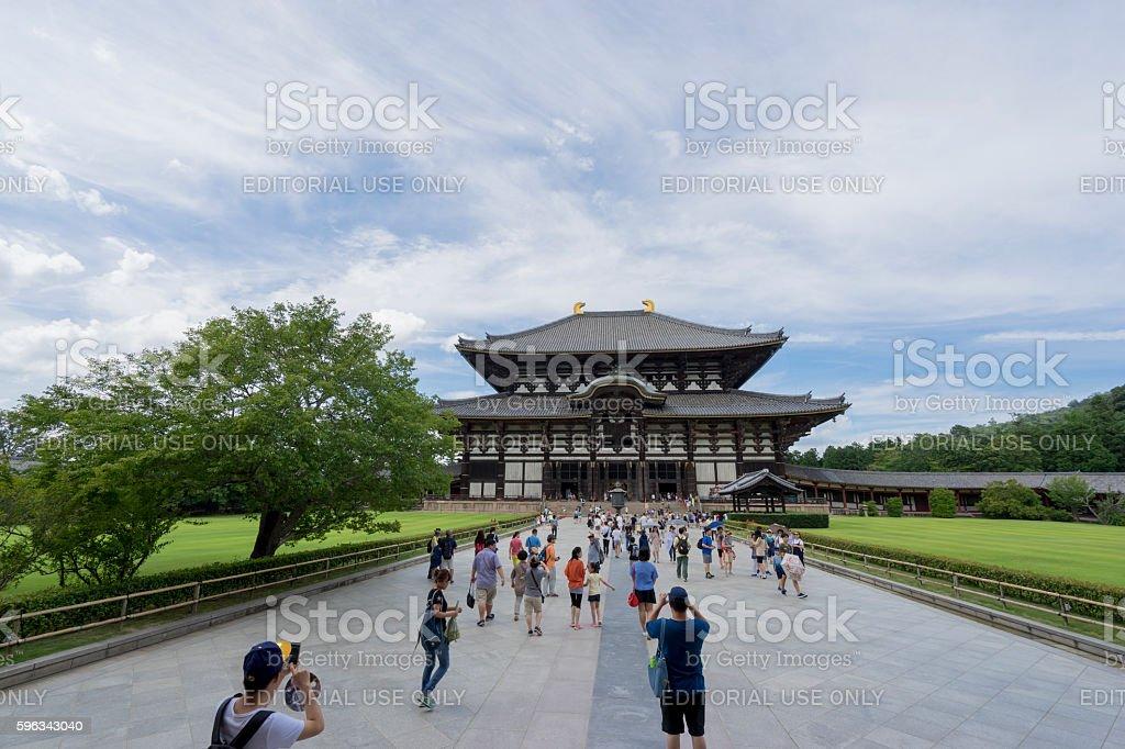 Todai-ji temple 2 Lizenzfreies stock-foto