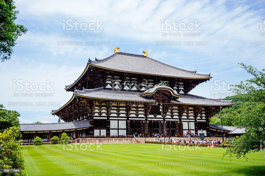 Todaiji-Tempel in Nara, Japan  – Foto