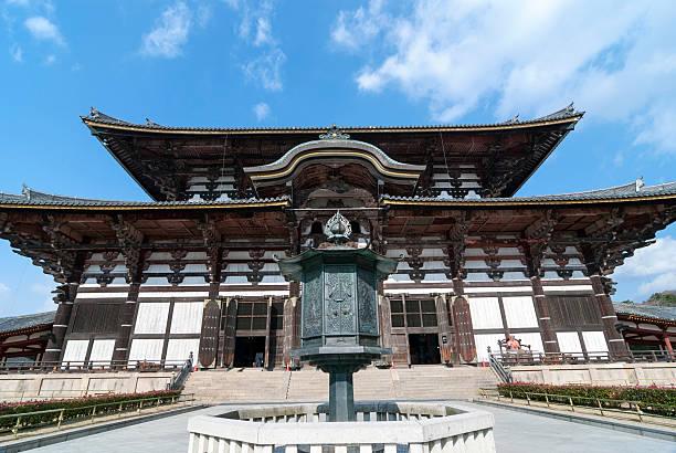 todai-ji tempel - größte städte der welt stock-fotos und bilder