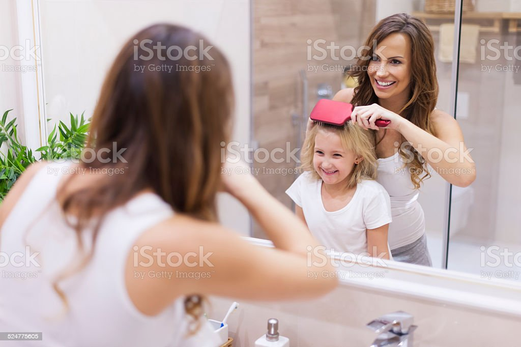 Today your hairstyle will be special stock photo