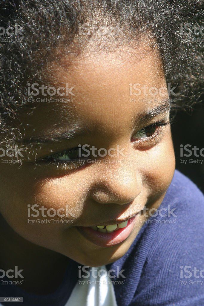 Today's Child royalty-free stock photo