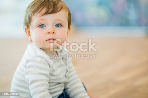 istock Toddler at Daycare 638775392