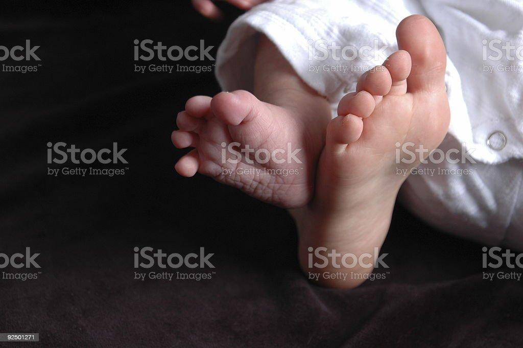 Kleinkinder & Baby Füße Lizenzfreies stock-foto