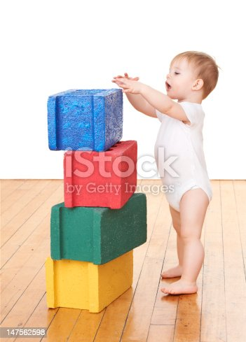 470874196istockphoto Toddler Playing With Blocks 147562598